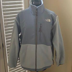 NEW North Face 'light blue' fleece zip jacket.